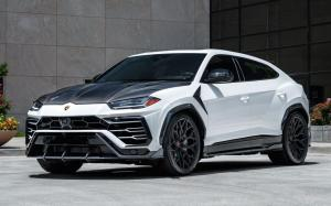 Lamborghini Urus Bianco Icarus on Vossen Wheels (S17-01)