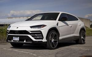 Lamborghini Urus Bianco Monocerus by SR Auto Group on PUR Wheels (RS39) 2019 года
