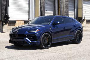 Lamborghini Urus Blu Astraeus on Forgiato Wheels (TEC 3.6) 2019 года