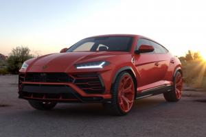 2019 Lamborghini Urus Rosso Anteros on Forgiato Wheels (F2.09)