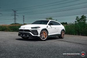2019 Lamborghini Urus by Driving Emotions on Vossen Wheels (M-X6)