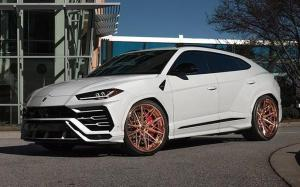 Lamborghini Urus on Avant Garde Wheels (AG F538) 2019 года