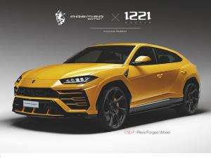 2019 Lamborghini Urus on Premier Edition Wheels (CSD-F)