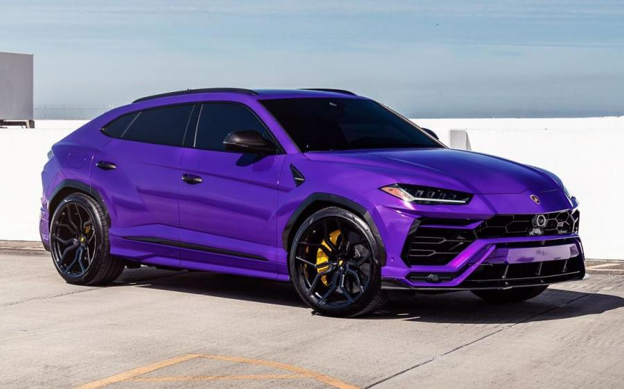 2019 Lamborghini Urus on Vossen Wheels (HC-3)