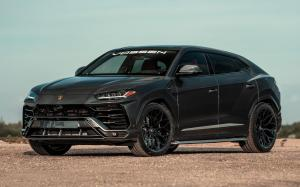2019 Lamborghini Urus on Vossen Wheels (S17-01)