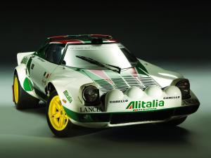 Lancia Stratos Group 4 1972 года