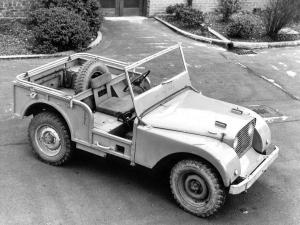 Land Rover Prototype 1946 года