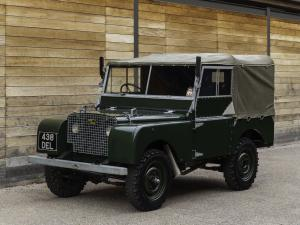 Land Rover Series I 80 Soft Top 1948 года