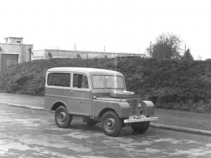 Land Rover Series I 80 Tickford Station Wagon 1948 года