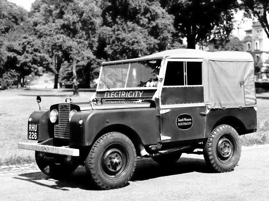Land Rover Series I 86 Soft Top '1954