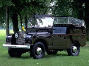 Land Rover Series I Royal Car