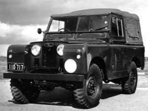 Land Rover Series II 88 Command Reconnaissance 1958 года