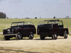 Land Rover Series II Royal Car