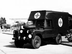 Land Rover Series II 109 Ambulance Pilot Model B