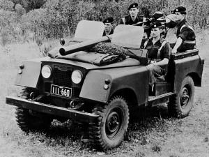 Land Rover Series II 88 Gunbuggy with 106 mm RCL