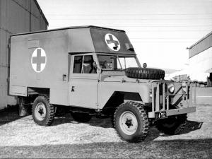 Land Rover Series IIA 109 GS Ambulance