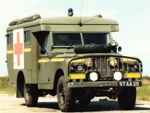 Land Rover Series IIA 109 Ambulance Truck