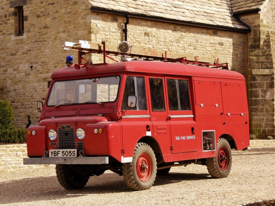 Land Rover Series IIA Forward Control Fire Service
