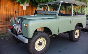 Land Rover Series IIA 88 200Tdi-Powered '1967