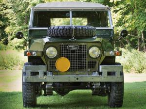Land Rover Lightweight Series IIA 1968 года