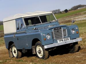 1971 Land Rover Series III 88 Hard Top