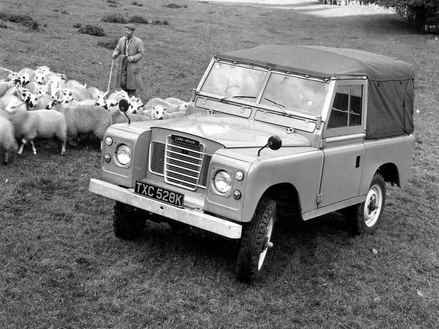Land Rover Series III 88 Soft Top