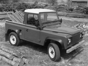 Land Rover Defender 90 Pickup 1984 года