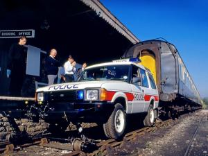 1989 Land Rover Discovery 3-Door Police