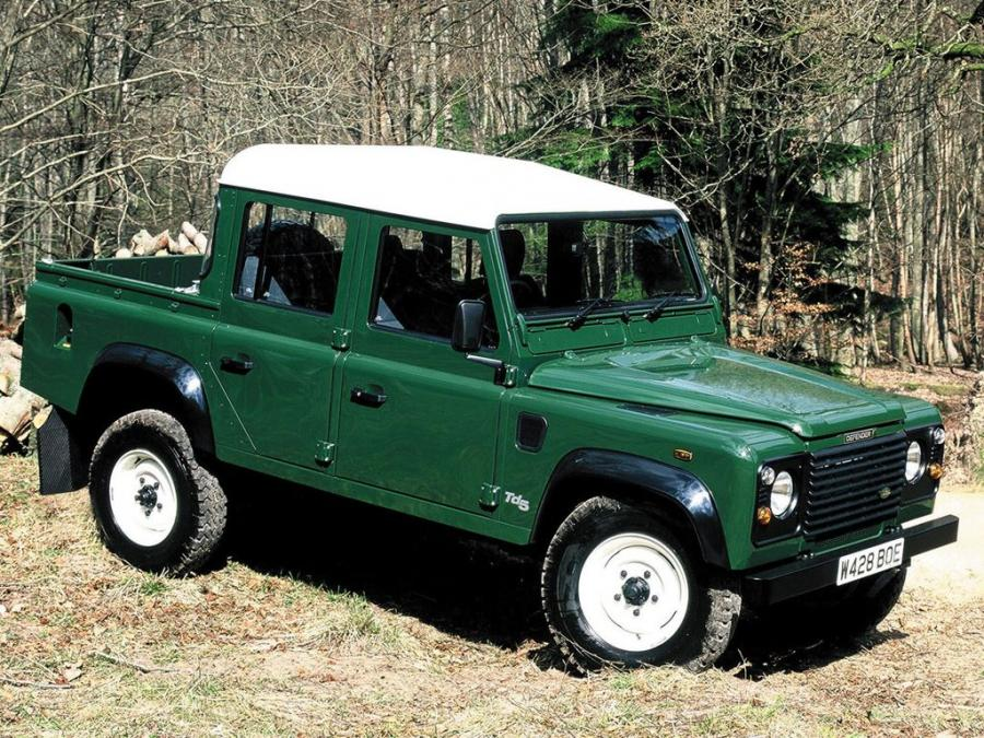 Land Rover Defender 110 Double Cab Pickup (UK) '1990