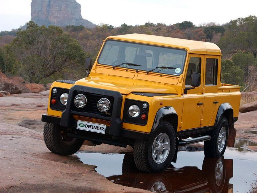 Land Rover Defender 110 Double Cab Pickup (ZA) '1990