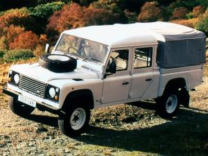 Land Rover Defender 130 Double Cab High Capacity Pickup 1990 года (ZA)