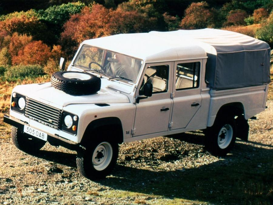 Land Rover Defender 130 Double Cab High Capacity Pickup (ZA) '1990