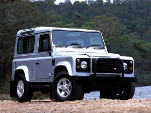 Land Rover Defender 90 Station Wagon 1990 года