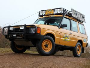 1990 Land Rover Discovery 3-Door Camel Trophy