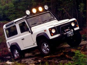 Land Rover Defender 90 NAS Station Wagon 1993 года