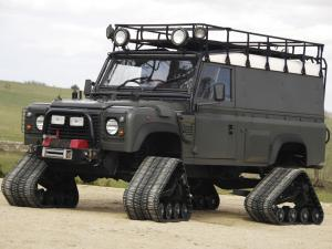 Land Rover Defender 110 Hard Top Matt Track 1998 года
