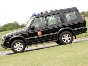 Land Rover Discovery Fire Service 2003 года