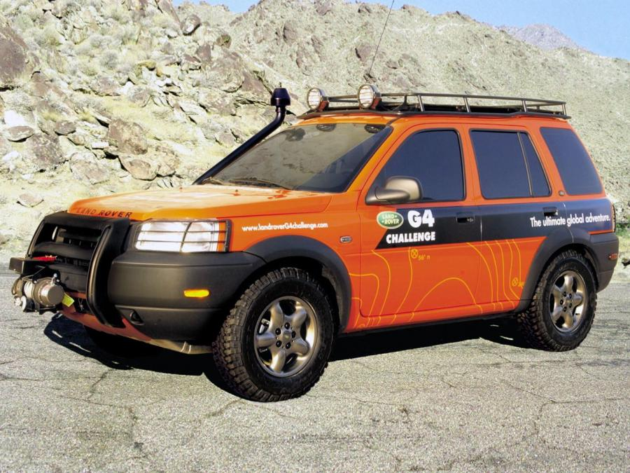 Land Rover Freelander G4 Edition