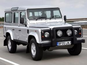 2005 Land Rover Defender Silver Limited Edition