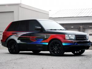 Land Rover Range Rover Sport Supercharged Troy Lee Designs