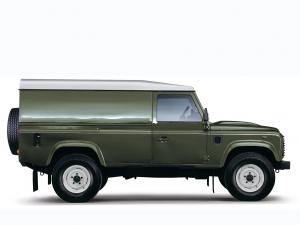 Land Rover Defender 110 Hard Top 2007 года
