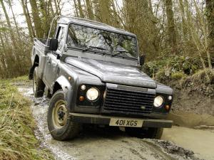 2007 Land Rover Defender 110 High Capacity Pickup