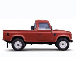 Land Rover Defender 110 Pickup 2007 года