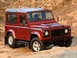 Land Rover Defender 90 Station Wagon 2007 года (ZA)