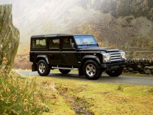 Land Rover Defender 110 SVX RHD 2008 года