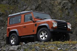 Land Rover Defender 90 Limited Edition Fire 2009 года