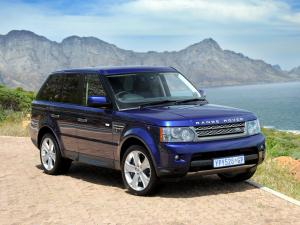 Land Rover Range Rover Sport Supercharged 2009 года (ZA)