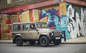 Land Rover Defender 110 Station Wagon X-Tech Edition 2011 года