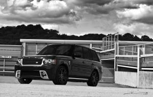 Land Rover Range Rover Black Vogue RS600 by Project Kahn 2011 года
