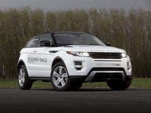 Land Rover Range Rover Evoque Coupe MagneRide GEN3 Prototype 2011 года